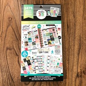 Health & Fitness Inspiration Calendar Stickers
